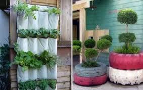 Grow one pot against a wall!