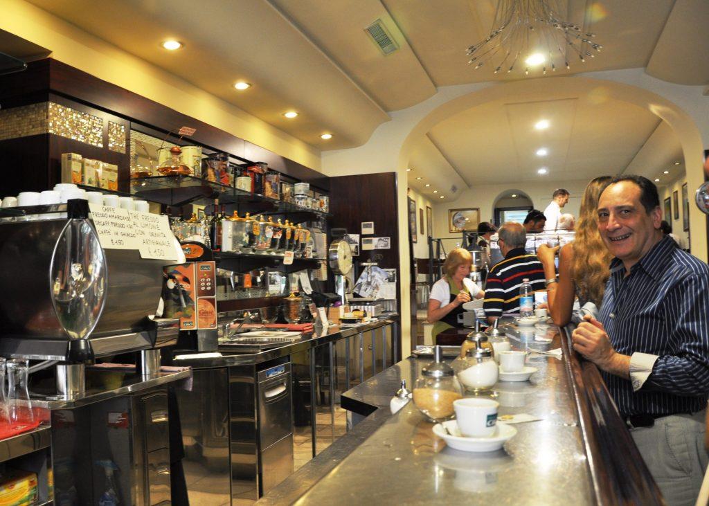 An Italian cafe