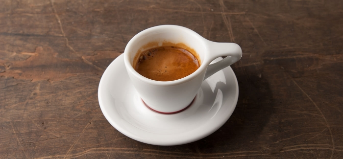 Coffee in Italy - an espresso