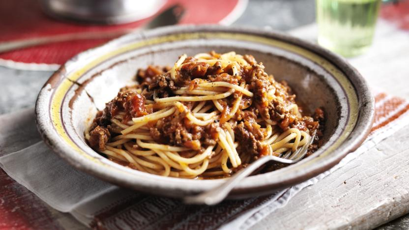 Italians will tell you this is ragu not bolgnese